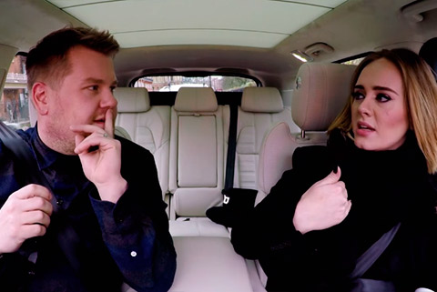 Adele - The Late Late Show with James Corden