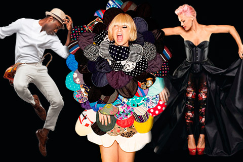 Aloe Blacc, Sia & Pink