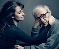 Penélope Cruz e Woody Allen