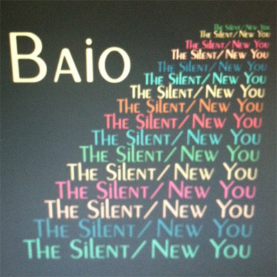 Baio - The Silent/New You EP
