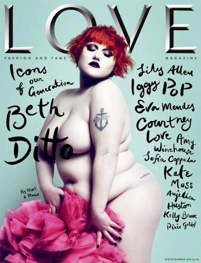 Beth Ditto - Love Magazine