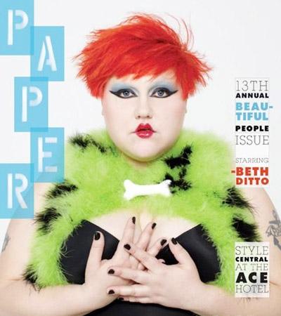 Beth Ditto - Paper Magazine