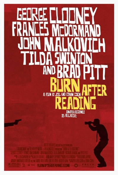 Burnf After Reading - Poster