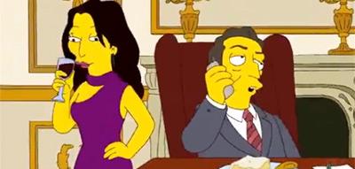 Carla Bruni - Simpsons