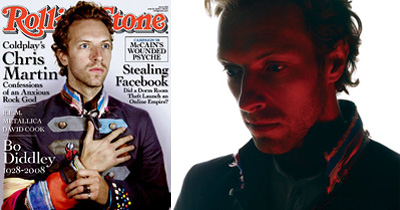 Chris Martin - Rolling Stone