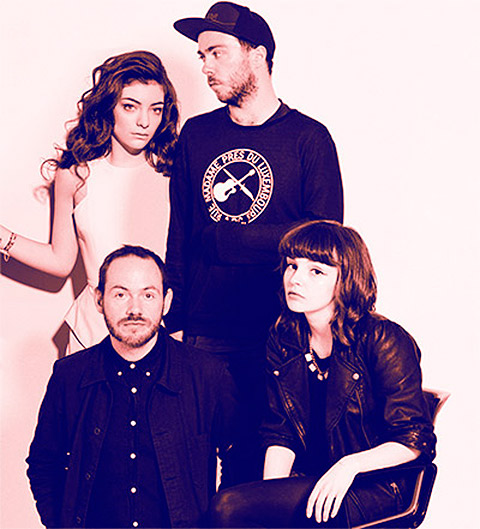 CHVRCHES & Lorde
