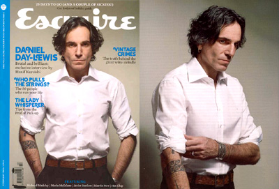 Daniel Day-Lewis - Esquire
