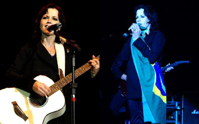 Dolores O'Riordan em Porto Alegre
