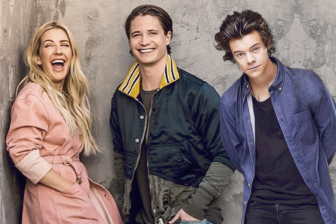 Ellie Goulding, Kygo & Harry Styles