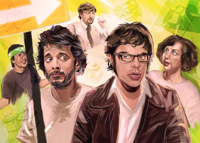 Flight of the Conchords - Sam Gilbey
