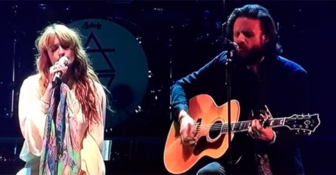 Florence Welch & Father John Misty