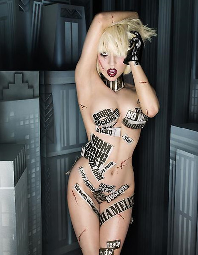 Lady Gaga - The Fame Monster by David LaChapelle