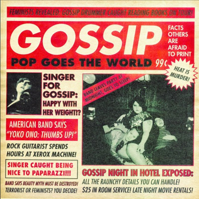 Gossip - Pop Goes the World Single