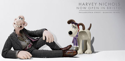 Wallace & Gromit - Harvey Nichols