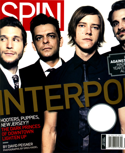 Interpol - Spin Agosto 07