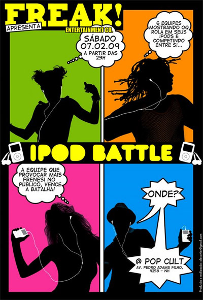 iPod Battle - Pop Cult