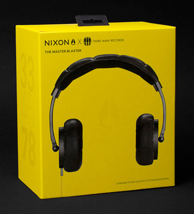 Nixon Third Man Headphones