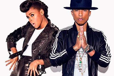 Janelle Monáe & Pharrell Williams