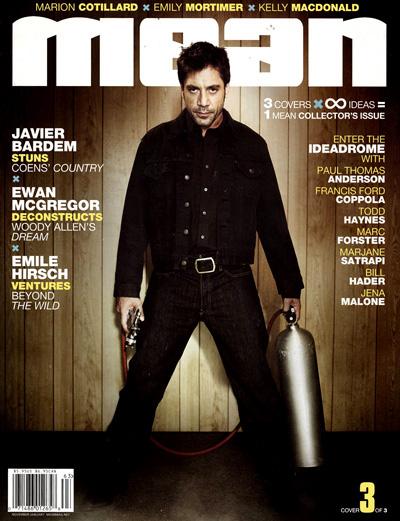 Javier Bardem - Mean Magazine