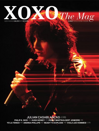 Julian Casablancas - XOXO Magazine