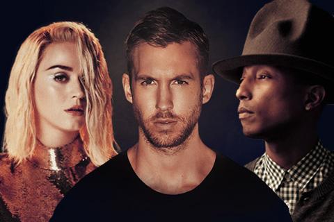 Katy Perry, Calvin Harris & Pharrell Williams