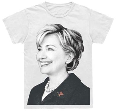 Camiseta Hillary Clinton por Marc Jacobs