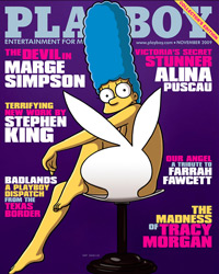 Marge Simpson - Playboy
