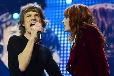 The Rolling Stones & Florence Welch