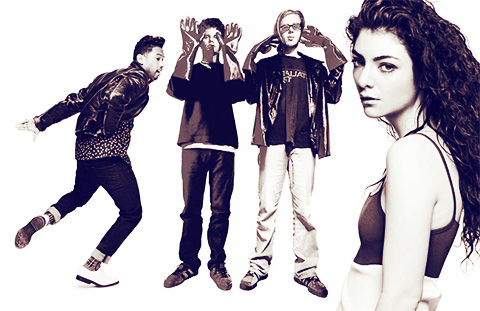 Miguel & The Chemical Brothers & Lorde