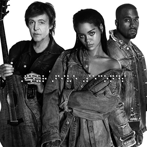 Rihanna, Paul McCartney & Kanye West