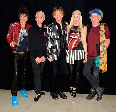 The Rolling Stones + Gwen Stefani