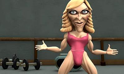 Spitting Image - Madonna
