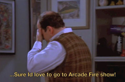 Seinfeld - Arcade Fire - Here Comes the Night Life