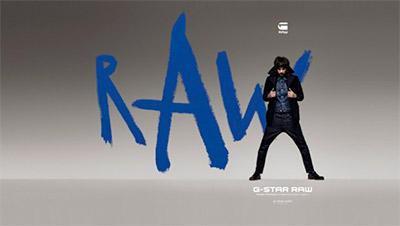 Sergio Pizzorno - G-Star Raw