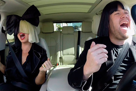 Sia & James Corden