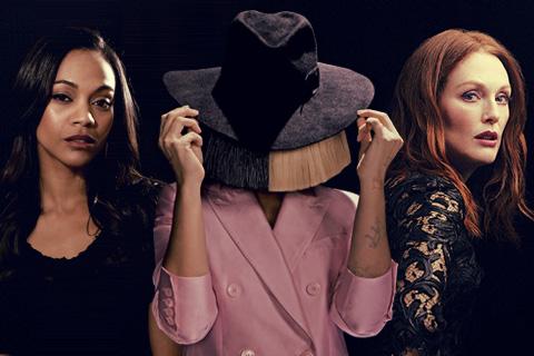 Zoe Saldaña, Sia & Julianne Moore
