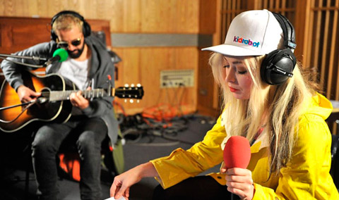 The Ting Tings - Live Lounge BBC