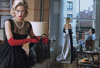 Carolyn Murphy & Tobey Maguire - Vogue US