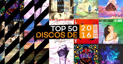 TOP 50 de discos de 2016 – # 21-30