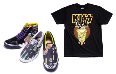 Vans - Kiss - Hotter Than Hell