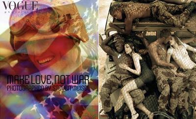 Vogue - Make Love Not War