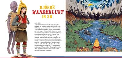 Björk - Wanderlust Storyboard