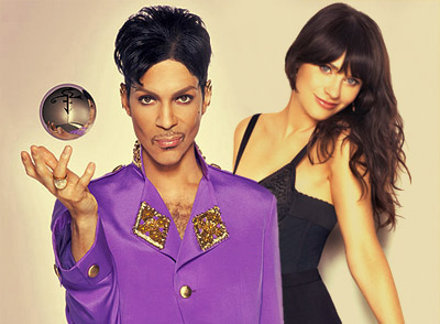 Prince & Zooey Deschanel