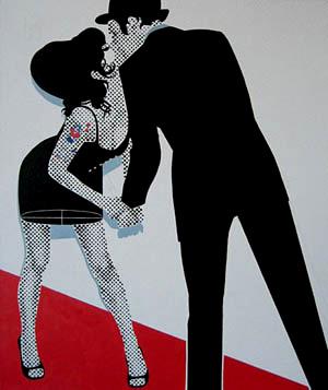 Gerald Laing - Amy Winhouse - Pop Art