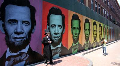 Barack Obama Lincoln Art