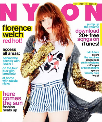 Florence Welch - Nylon