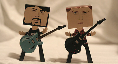 Dave Grohl e Josh Homme - Sally Grosart