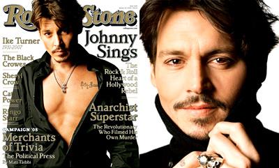 Johnny Depp - Rolling Stone