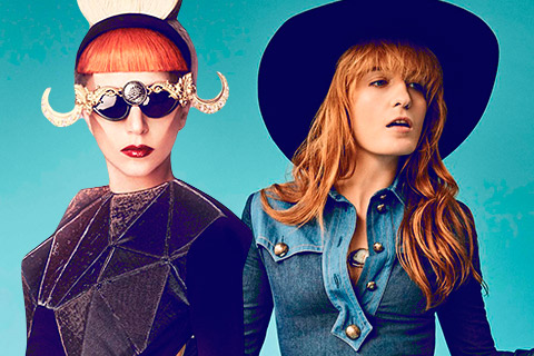 Lady Gaga & Florence Welch