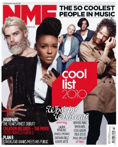 NME - Cool List 2010